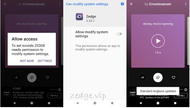 Customize Ringtones Through The Zedge App