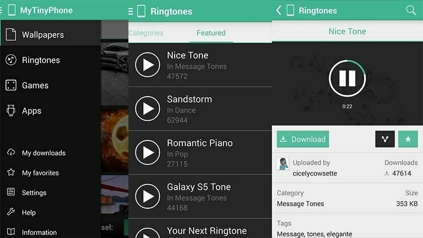 MTP Ringtones versus Zedge App