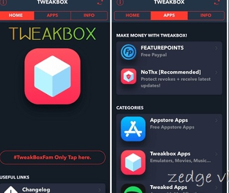 Install TweakBox App